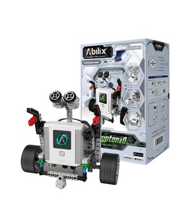 Krypton K0v2 - robot edukacyjny, 17 projektów, 409 elementów, najnowszy model z serii V2